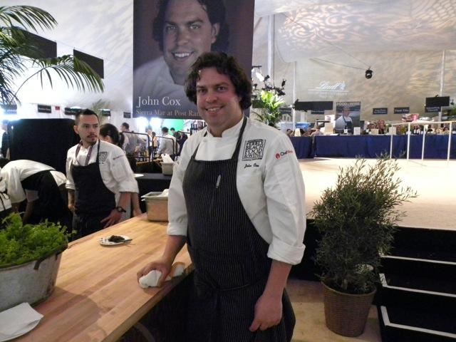 Chef John Cox of Sierra Mar