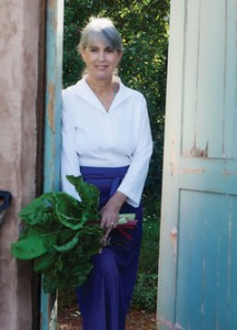 Chef/author Deborah Madison