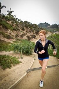Maiah Miller Running 1