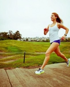 Maiah Miller running 3