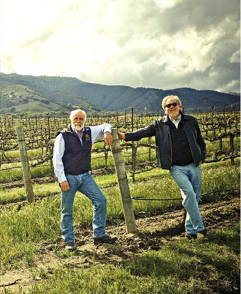 Robb Talbott and winemaker Dan Karlsen