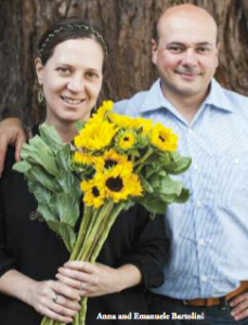 Photo of Anna and Emanuele Bartolini by Valery Rizzo, www.valeryrizzo.com.