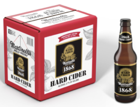 Martinelli S Launches Hard Cider Edible Monterey Bay