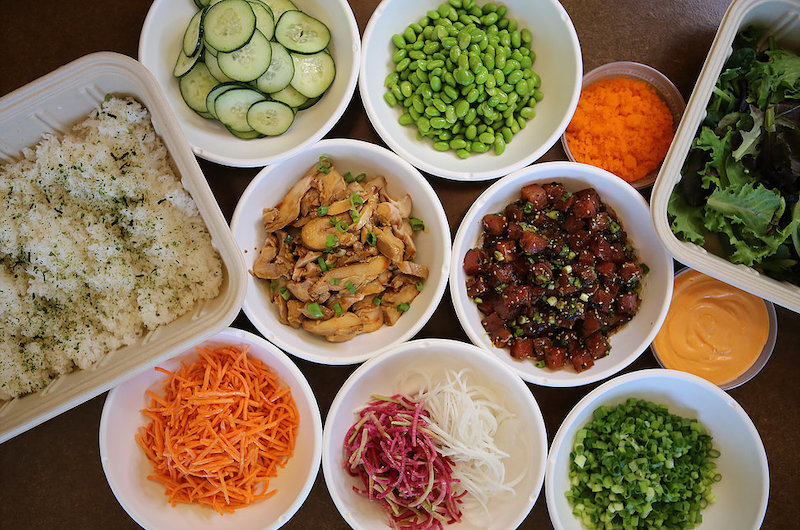 Clean, Healthy Eating with a Punch of Flavor Powers the New Pacific Bowls & Rolls