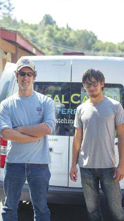 Local Catch founders Oren Frey and Alan Lovewell.