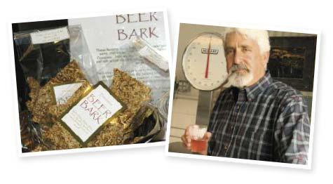 Eco-Deli's Beer Bark flatbread, Jeff Dubin and his merlot tea