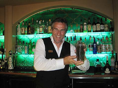 Bar manager Drago Cvetkovic