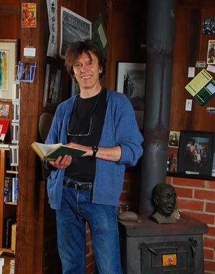 Magnus Toren at the Henry Miller Library