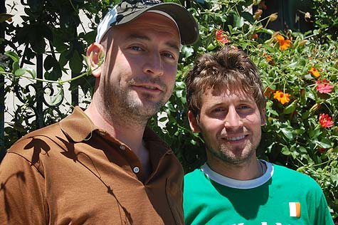 Brendan Jones and Mathew Zolan